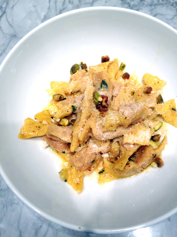 All The Pasta You Can Eat With Olive Garden S Never Ending: Mortadella Fattisu With Pistachios